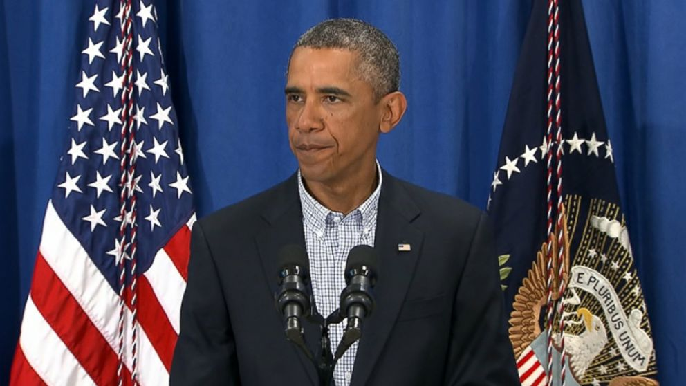 VIDEO: The president addresses the violence in the wake of Michael Browns shooting death by police.