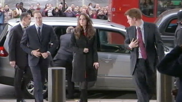 VIDEO: The royal, 27, has reportedly moved in with the newlyweds at Kensington Palace.