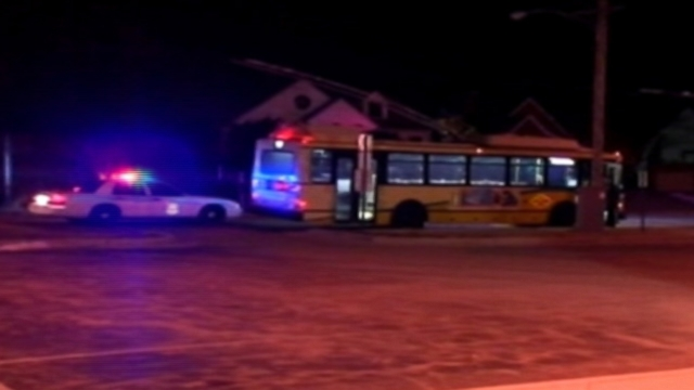 """VIDEO: Police in Ohio credit a copy of """"The Message"""" with stopping two bullets that hit a bus driver."""