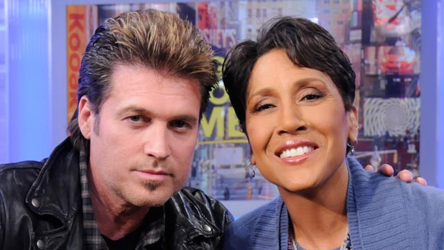 PHOTO Watch Robin Roberts interview with Billy Ray Cyrus on Wednesday, March 21, 2011.
