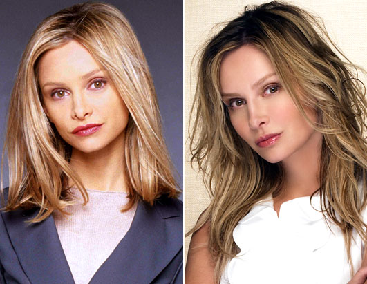 Ally McBeal Cast: Then and Now Calista Flockhart