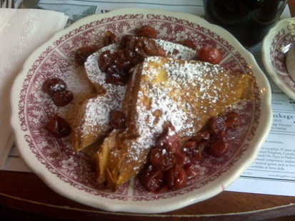 Located in Fish Creek, Wis., White Gull Inn's recipe for Cherry-Stuffed French Toast was a finalist in the