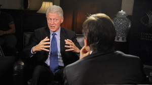 BILL CLINTON TO ?EXHAUSTED? VOTER:: ?Give Us