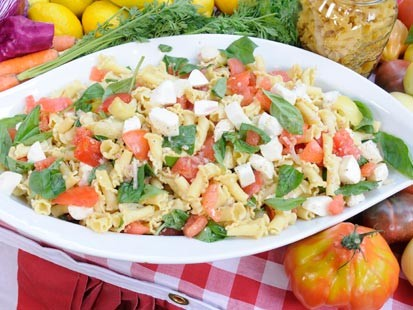 The Bidens Pasta Caprese