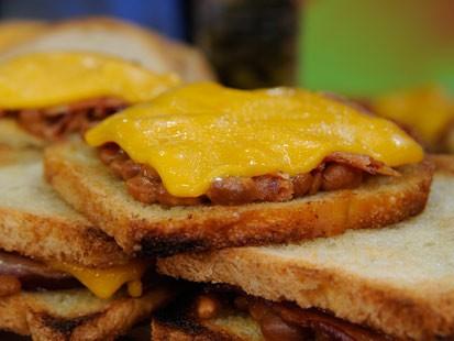 Lia Guerras Pork N Beans Sandwich
