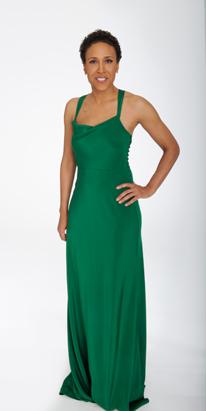 Robin's Oscar Dress