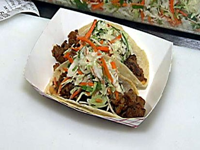 Marination Mobile's Spicy Pork Taco