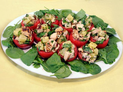 Tomatoes /Hawaiian Chicken Salad