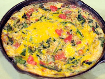 Veggie and Cheese Frittata