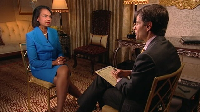 VIDEO: Condoleezza Rice tells the story of an unnerving moment a few weeks after 9/11.