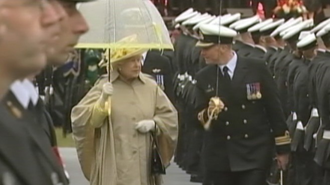 VIDEO: Could April showers dampen the Royal couple's wedding?