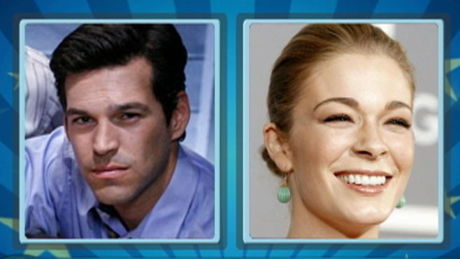 VIDEO: LeAnn Rimes met Eddie Cibrian while working with him on a made-for-TV movie.