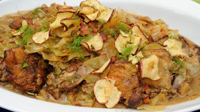 louise gibson chicken cabbage stir-fry recipe