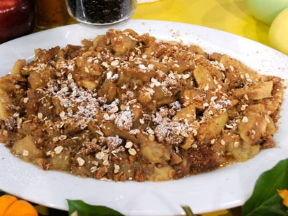 Slow-Cooked Apple Crisp