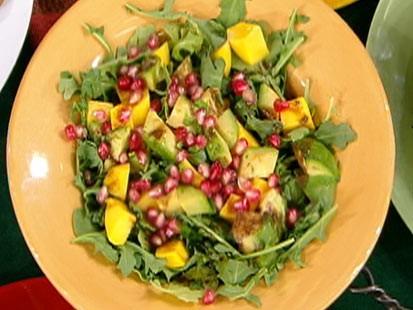 Diane Henderiks Arugula, Papaya and Avocado Salad with
