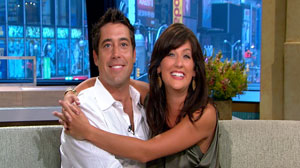 ?Bachelorette? Jillian Harris and Ed Swiderski on GMA