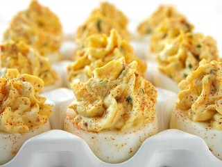 PHOTO Bacon & Cheddar Deviled Eggs