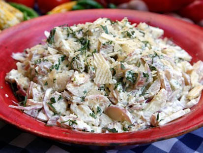 PHOTO:??Richard Blais Sous Vide Potato Salad.