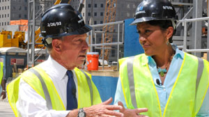 Robin Roberts Speaks with New York City Mayor Michael Bloomberg