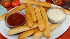 PHOTO:Breadsticks are shown.