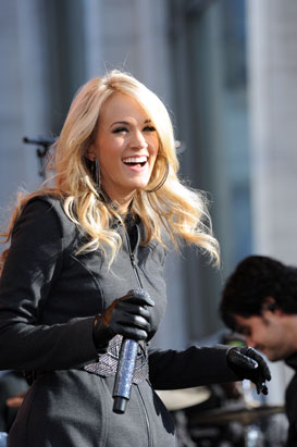 Carrie Underwood GMA Concert