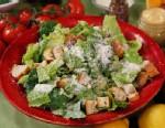 "PHOTO A Lighter Caesar Salad is shown on ""Good Morning America,"" Jan. 21, 2011."