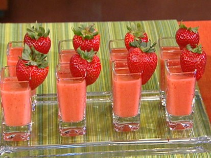 Reed Alexander's strawberry mango chillers.