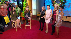 "PHOTO A style contributor with Lucky magazine, appeared on ""Good Morning America"" to talk about finding great holiday dresses on a budget."