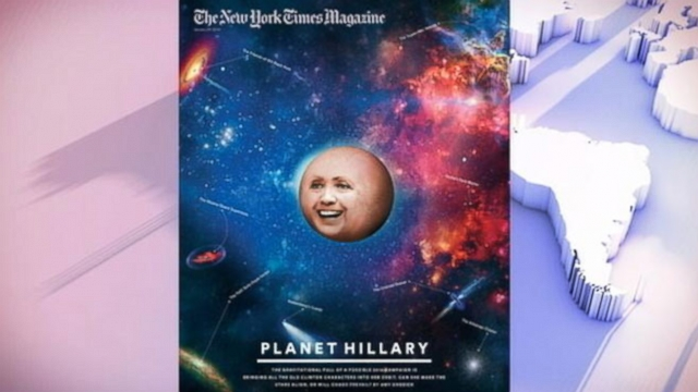 Journalist Amy Chozick discusses her New York Times Magazine article about Hillary Clinton.