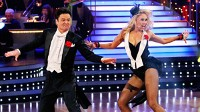 PHOTO Donny Osmond and Kym Johnson compete in &quot;Dancing with the Stars,&quot; the finals.