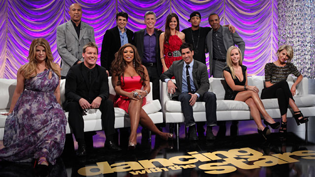 "Photo: Cast of ABCs ""Dancing with the Stars"""