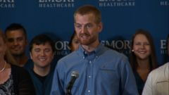 VIDEO: Dr. Kent Brantly discusses the unexpected turn in his life when diagnosed with the Ebola virus.