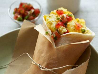 PHOTO Egg & Cheese Breakfast Burrito