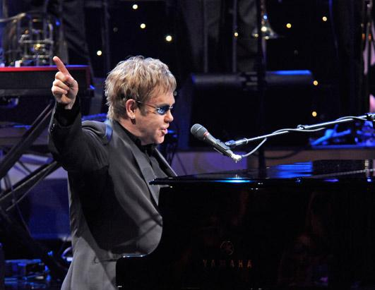 Elton John Through the Years