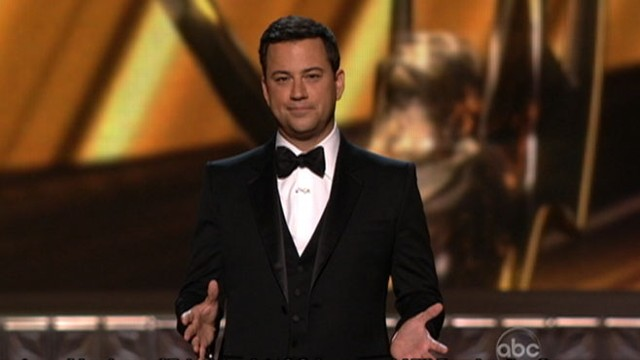 VIDEO: Jimmy Kimmel hosts 2012 Primetime Emmy Awards.