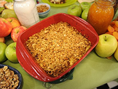 Three-Ingredient Apple Crisp