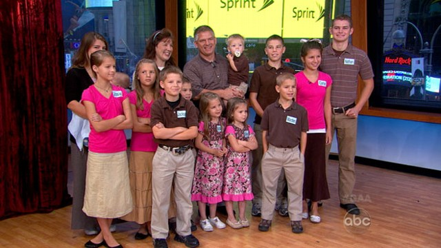the bates family on raising 19 kids  new reality show video