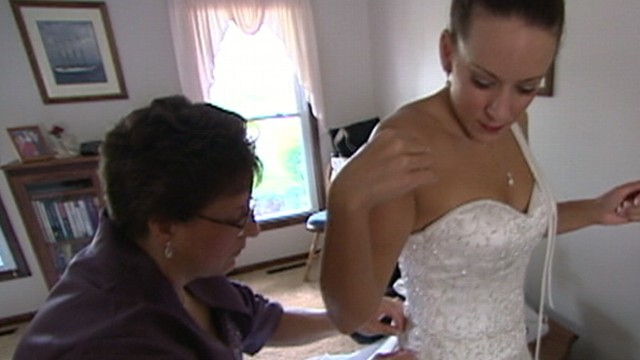VIDEO: Couples find ways to save their special day when friends, family cant come together.