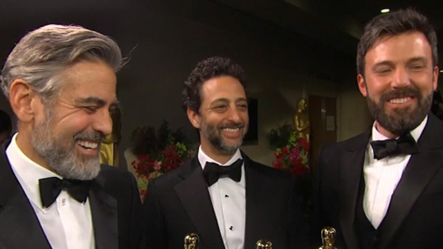 VIDEO: The producers of the Best Picture winner discuss winning the Oscar