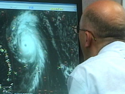 VIDEO: Forecasters try to predict when and where Hurricane Bill will make landfall.