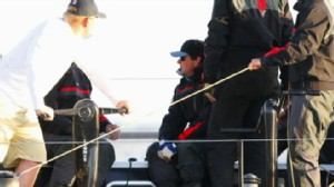 VIDEO: Images of Tony Hayward on his yacht draw more outrage from Gulf residents.