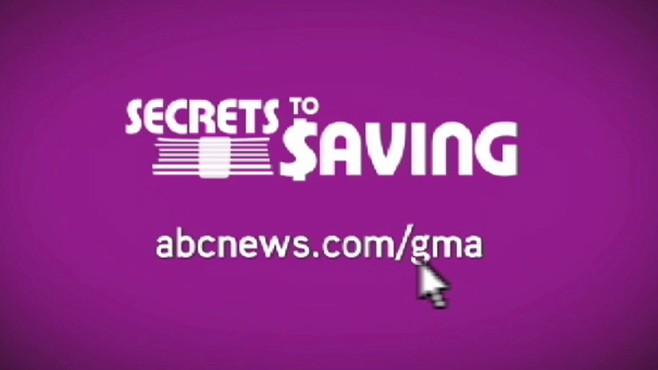 VIDEO: &quot;Good Morning America&quot; offers top tips for saving money.