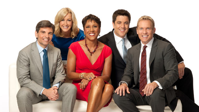 PHOTO: Good Morning America anchors