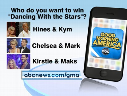 "VIDEO: Use the ""Good Morning America"" app to vote live on the hot topics of the day."