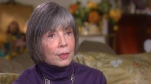 "VIDEO: Anne Rice talks about her new book, ""Christ the Lord: The Road to Cana."""