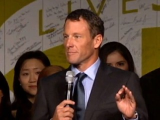 Watch: Lance Armstrong Leads Cancer-Fighting Charity Gala Despite Scandal