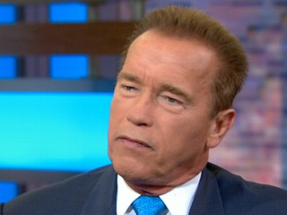 Watch: Schwarzenegger's Trouble With 'I'll Be Back' Line