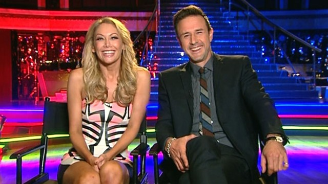 "VIDEO: Arquette, partner Kym Johnson discuss experience on ""Dancing With the Stars."""