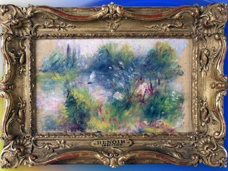 Watch: Renoir Bought for $7 at Flea Market Stolen in '50s