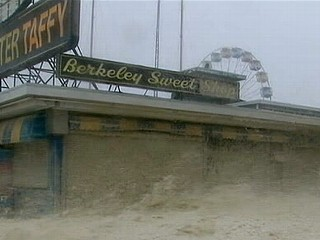 Watch: Superstorm Sandy Destroys Atlantic City Boardwalk
